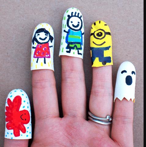 Beş parmağımda beş kafadar….